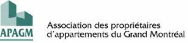 APAGM (Groupe CNW/Association des propriétaires d'appartements du grand Montréal)