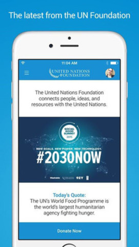 The latest from the UN Foundation (CNW Group/Frankly Inc.)