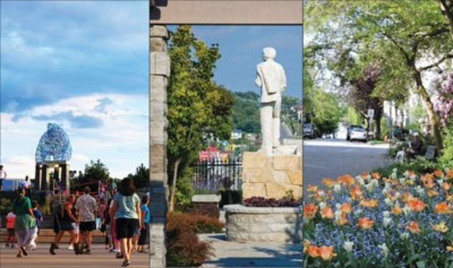 Great Places in Canada 2015 Winners (Stuart Park, Kelowna BC – Broadway, Orangeville ON – West End, Vancouver BC) (CNW Group/Canadian Institute of Planners)