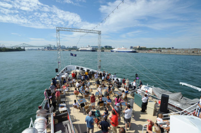 Port in the City Day 2016: a successful discovery cruise! (CNW Group/PORT OF MONTREAL)