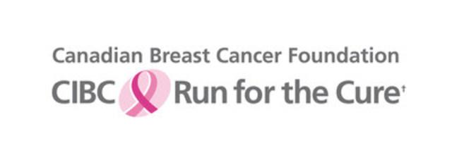 Canadian Breast Cancer Foundation CIBC Run for the Cure (CNW Group/Canadian Breast Cancer Foundation CIBC Run for the Cure)
