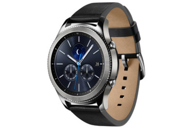 Samsung Gear S3 Classic (CNW Group/Samsung Electronics Canada)