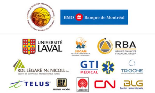 Commanditaires 2016 (Groupe CNW/Conseil en éducation des Premières Nations)