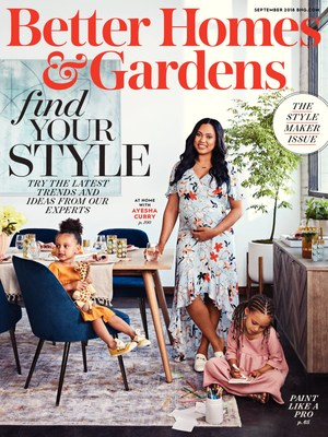 Better Homes & Gardens Unveils Eighth Annual September Stylemaker Issue