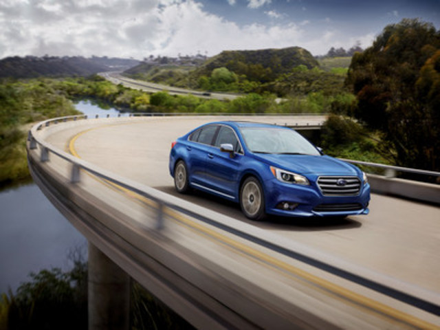 2017 Subaru Legacy (CNW Group/Subaru Canada Inc.)