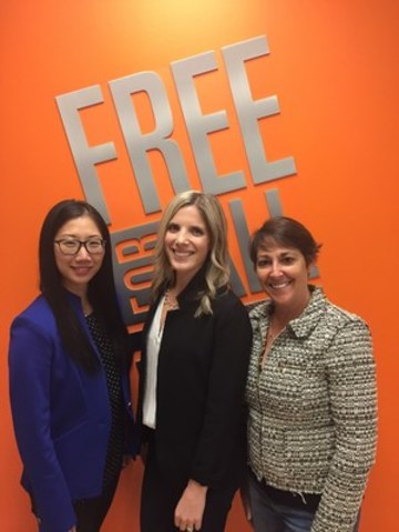 From left to right: Bibianna Poon, Cristina Grimm, Jodi Spitzer. (CNW Group/Free for All Marketing)