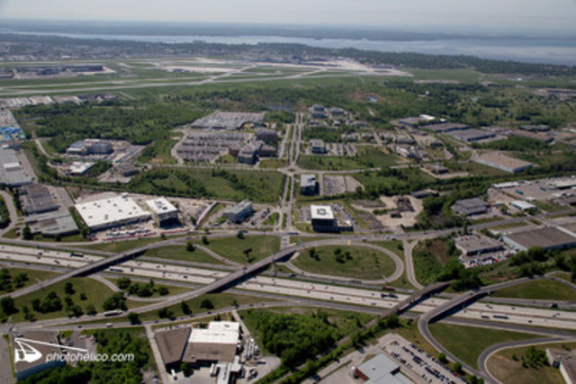 Technoparc Montréal from above. (CNW Group/Technoparc Montréal)