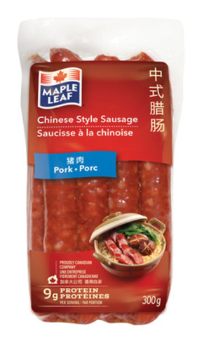 Chinese Style Sausage - Pork (CNW Group/Maple Leaf Foods Inc.)