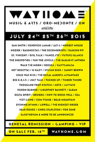 WayHome Music and Arts Poster (CNW Group/Republic Live Inc.)