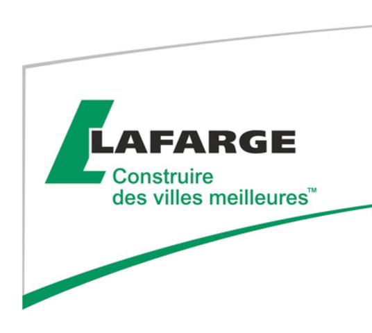 Lafarge Canada Inc. (Groupe CNW/Lafarge Canada Inc.)