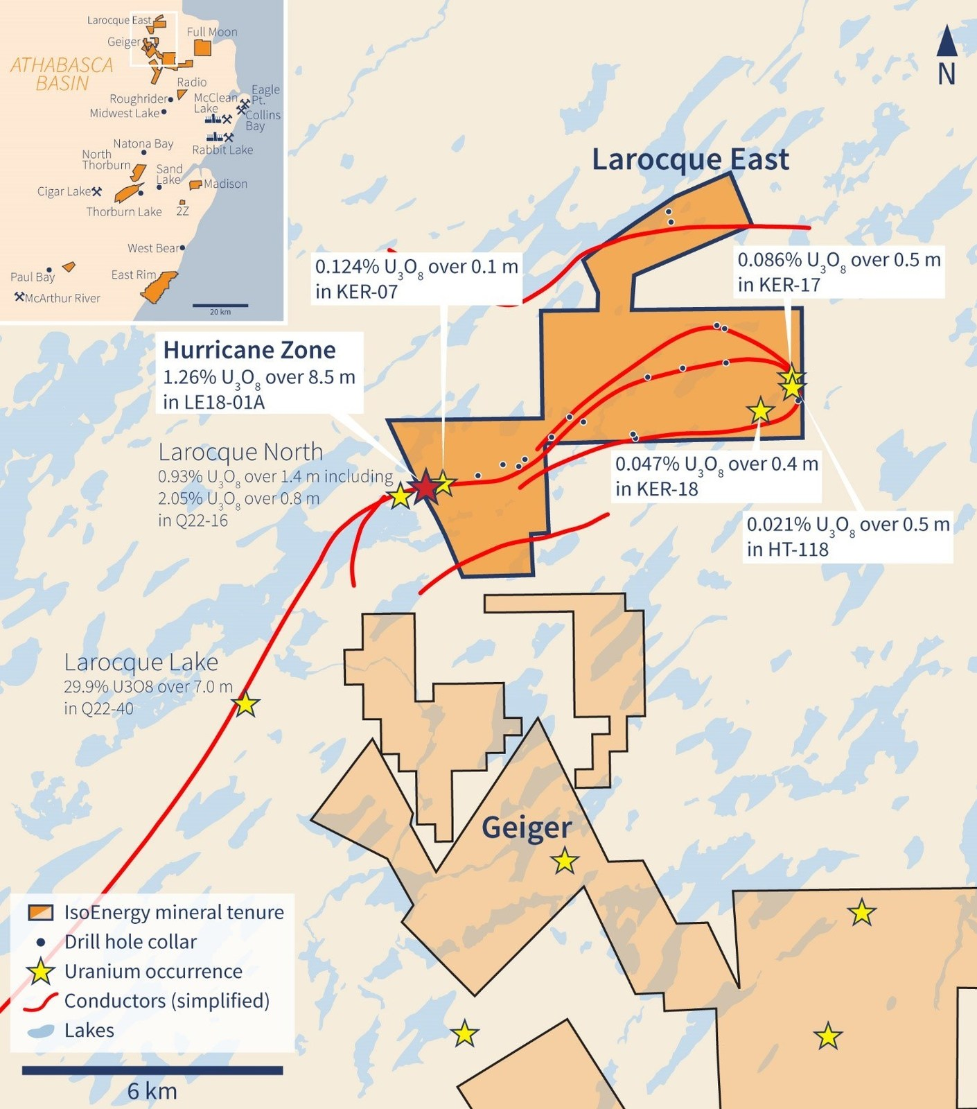 Figure 1 – Larocque East Property Location Map