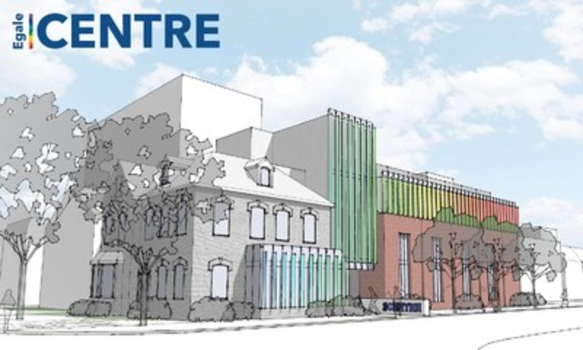 Rendering of Egale Centre (CNW Group/Egale Canada Human Rights Trust)