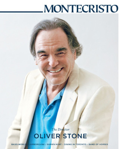 """Every single chapter has a radical interpretation of history that's different from what you read in textbooks,"" says director Oliver Stone. He sits with MONTECRISTO to discuss his documentary The Untold History of the United States and this week's visit as the featured artist at Vancouver Biennale CineFest LIVE. www.montecristomagazine.com (CNW Group/MONTECRISTO Magazine)"