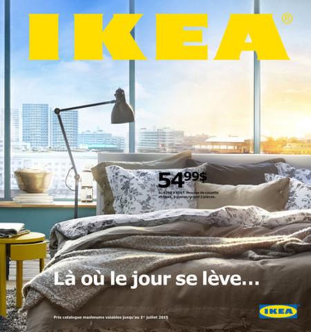 Couverture anglaise du catalogue IKEA 2015 (Groupe CNW/IKEA Canada)