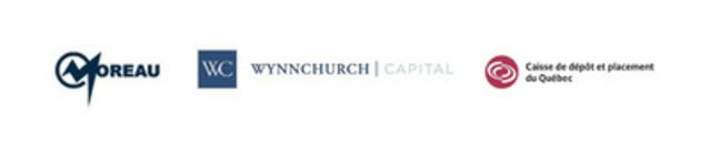 Wynnchurch Capital s'allie à la Caisse de dépôt et placement du Québec afin de financer la croissance du Groupe Moreau, un entrepreneur spécialisé en électricité, en structures, en tuyauterie et en mécanique du secteur industriel (Groupe CNW/TNG Corporation) (Groupe CNW/Groupe Moreau)