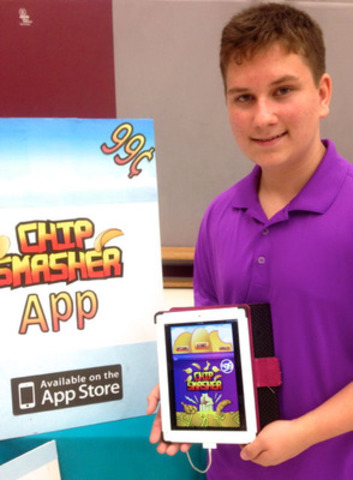 Thomas, a 14 year old student, Helps Charity with profits from his App sales! (CNW Group/Radonic Rodgers ...