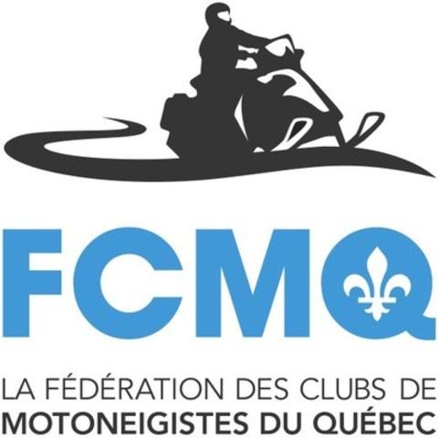 Logo : La Fédération des clubs de motoneigistes du Québec (FCMQ) (Groupe CNW/Fédération des clubs de motoneigistes du Québec)