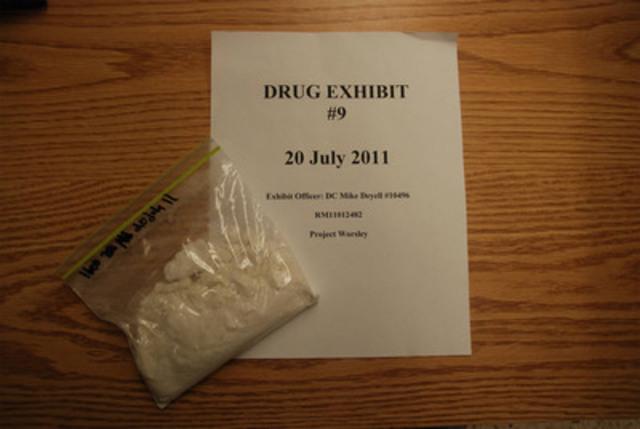 Cocaïne (Groupe CNW/Police provinciale de l'Ontario)