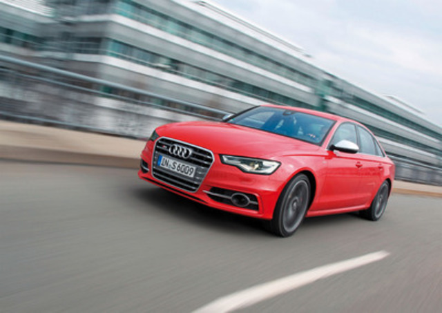 Audi Canada launches the new S6 model (CNW Group/Audi Canada)