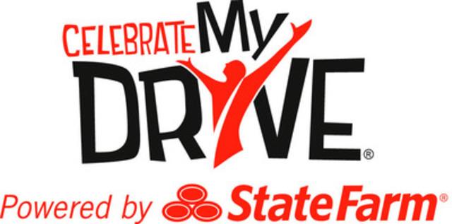 Celebrate My Drive State Farm Logo (CNW Group/State Farm)