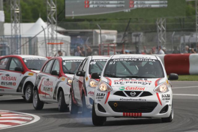 Un grand retour et d'excellents débuts pour le légendaire pilote canadien Richard Spénard ! (Groupe CNW/Nissan Canada Inc.)