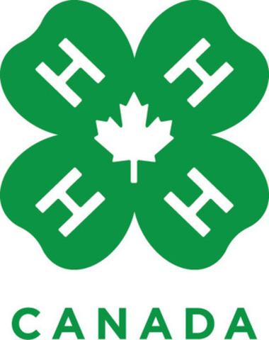 Les 4-H du Canada dévoilent leur nouveau logo (Groupe CNW/4-H Canada)