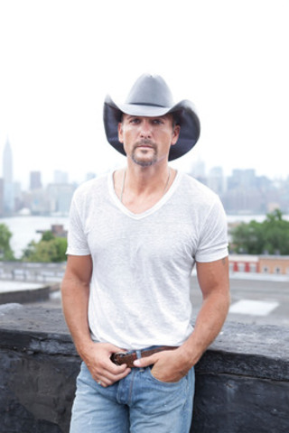 Tim McGraw headlines first annual Boots and Hearts Music Festival happening at Canadian Tire Motorsport Park from August 10-12, 2012. Three-day passes are available starting April 4th for $199.99. (CNW Group/Boots and Hearts Music Festival)