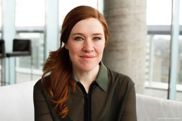 Clara Hughes. © Simon Baker. (CNW Group/Simon and Schuster Canada)