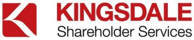 Kingsdale Shareholder Services (CNW Group/Kingsdale Shareholder Services)