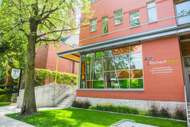 Founded in 2003, Orchard House unsubsidized private preschool officially opened its new school in a brand new purpose built building in Montreal. Innovative bilingual educational program based on the teachings of Dr. Montessori and Dr. Gardner (Harvard). Two centres, 200 students, 45 teachers and support staff. http://orchard-house.ca  (CNW Group/Orchard House)