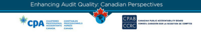 A final report has been issued as part of the Enhancing Audit Quality initiative launched by the Chartered Professional Accountants of Canada and the Canadian Public Accountability Board. The consultation process led to a number of conclusions and recommendations relating to international audit reform proposals. (CNW Group/CPA Canada)