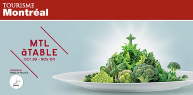 Third edition of MTL à TABLE: Announcement of the more than 140 participating restaurants. (CNW Group/Tourisme Montréal)