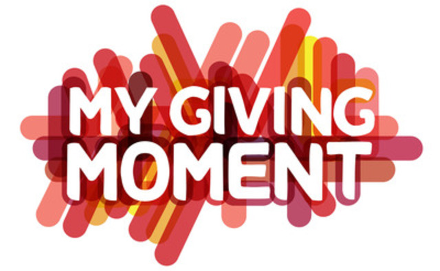 My Giving Moment logo (CNW Group/Manifest Communications Inc.)