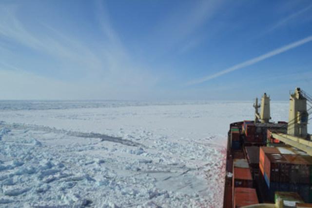 Enfotec – à l'avant-garde de la technologie de navigation dans les glaces (Groupe CNW/Fednav Ltd.)