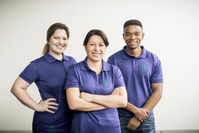Adèle on Demand, a new Montreal company, brings its innovative and unique service, housekeeping on demand, to the local market. (CNW Group/Adèle on Demand)