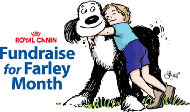 Fundraise for Farley Month (CNW Group/Ontario Veterinary Medical Association)