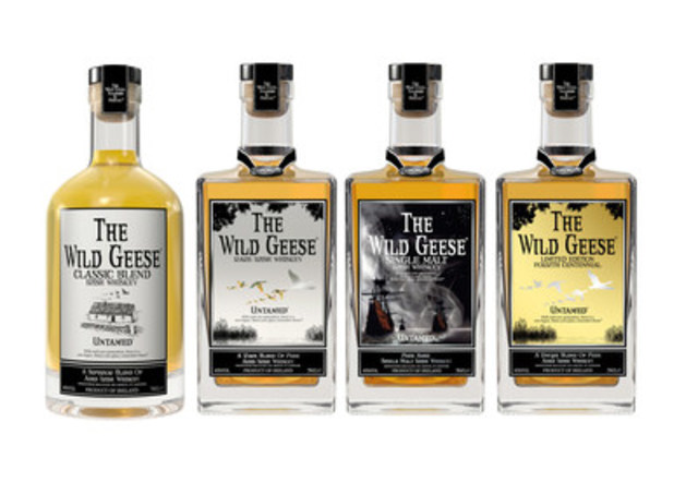 Wild Geese Irish Whiskey Collection (CNW Group/Wild Geese Irish Whiskey)
