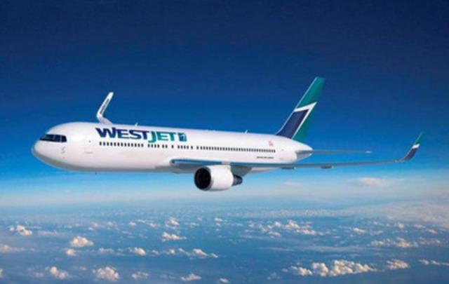 Photo du Boeing 767-300 de WestJet (Groupe CNW/WestJet)