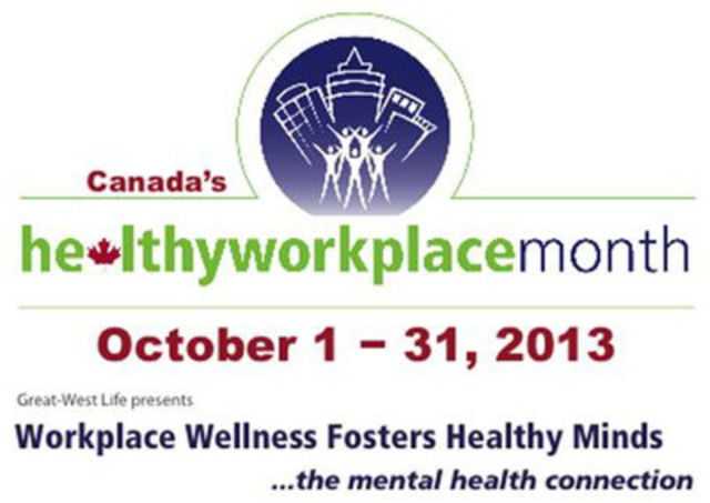 Excellence Canada - Canada's Healthy Workplace Month (CNW Group/Excellence Canada)