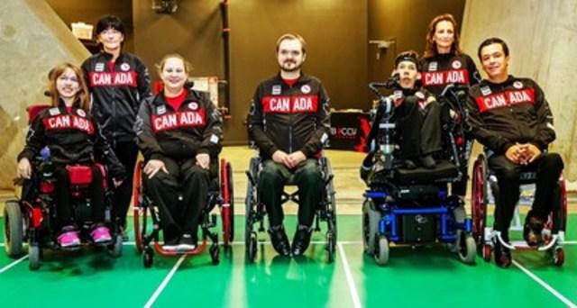 Boccia Canada et le Comité paralympique canadien sont fiers d'annoncer les six athlètes de boccia mis en nomination pour la sélection dans Équipe Canada pour les Jeux paralympiques de Rio 2016 en septembre. (Groupe CNW/Comité paralympique canadien (CPC))
