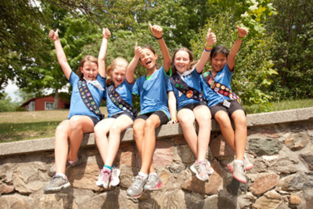Girls across Canada are excited to begin a new year of Girl Guides! Information on Girl Guides of Canada's programs and opportunities is available at girlguides.ca or by calling our Membership hotline at 1-800-565-8111. (CNW Group/Girl Guides of Canada)