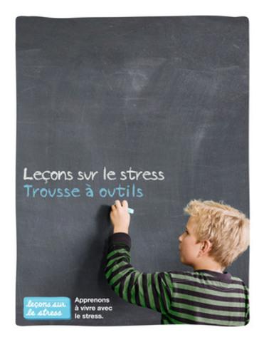 La Fondation de psychologie du Canada et Pfizer Canada ont fait équipe afin de créer les Leçons sur le stress, une trousse pour les enseignants et un guide des parents gratuits et téléchargeables. Gracieuseté plusquedesmedicaments.ca. (Groupe CNW/PFIZER CANADA INC.)