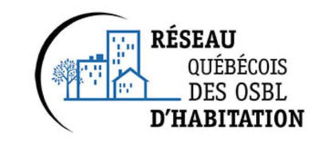 Logo du RQOH. (Groupe CNW/Réseau québécois des OSBL d'habitation (RQOH))