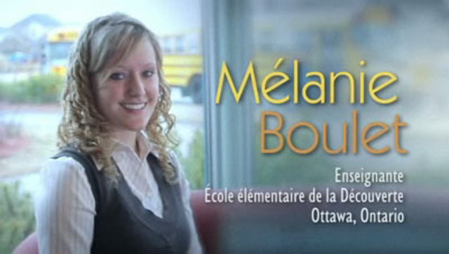 Depuis qu'elle est toute petite, Mélanie Boulet épargne son argent afin d'être en mesure de réaliser ses rêves, dont ceux d'acheter une maison et de voyager partout à travers le monde.