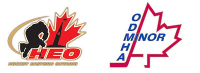 Hockey Eastern Ontario & Ottawa District Minor Hockey Association - Media Advisory (CNW Group/Hockey Eastern Ontario)