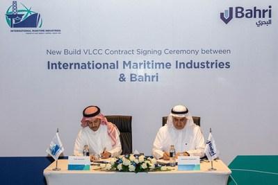 انترناشيونال ماريتايم إندستريز توقع على طلب بناء ناقلة نفط عملاقة مع هيونداي هيفي إندستريز ومجموعة البحري دعمًا لصناعة النقل البحري الجديدة بالمملكة العربية السعودية