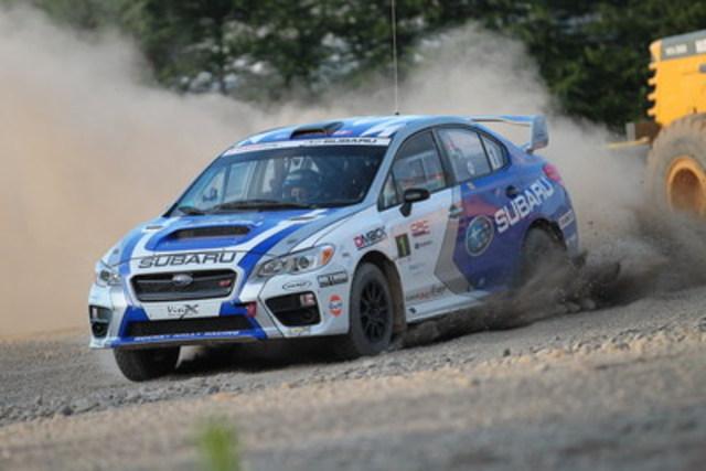 Subaru Canada : Toujours en tête pour le titre des constructeurs sur le circuit CRC (Groupe CNW/Subaru Canada Inc.)