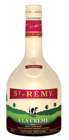 St-Rémy À la Crème is a new delicious brandy cream liqueur priced around $27.95 across Canada. (CNW Group/Select Wines and Spirits)