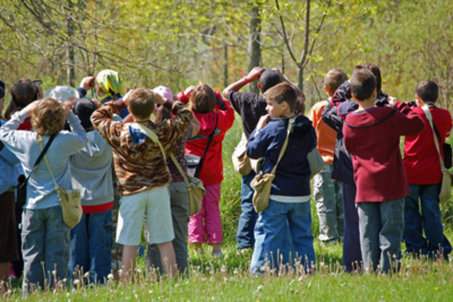 When kids get outdoors, they're inspired by nature and conservation. Ducks Unlimited Canada education programs are shaping conservation leaders for today and tomorrow. (CNW Group/DUCKS UNLIMITED CANADA)