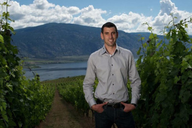 Winemaker Mathieu Mercier Joins Osoyoos Larose (CNW Group/Constellation Brands)
